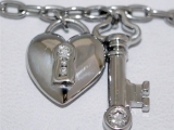 Sell a Tiffany Heart Key Bracelet