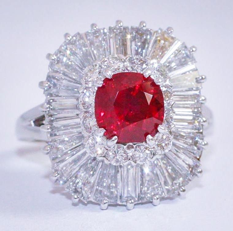 Burma Ruby Ring