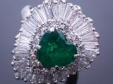 2.6_Carat_Emerald_Diamond_Ballerina_Ring_Pendant