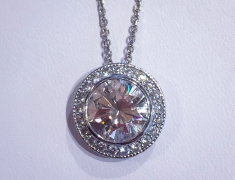 4 Carat Diamond Pendant