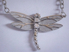 Tiffany Dragonfly Pendant