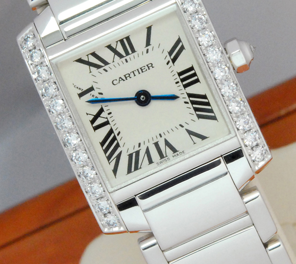 Cartier Tank Diamond Watch
