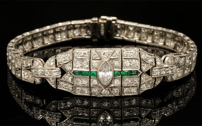 We Buy Art Deco Bracelets - New Orleans