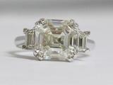 5ct Asscher Cut Diamond