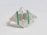 Antique Art Deco Ring - New Orleans