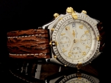 Breitling Leather Watch