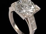 Large Carat Diamond Ring