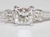 Tacori Princess Cut Diamond