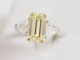 Yellow Diamond Ring - New Orleans